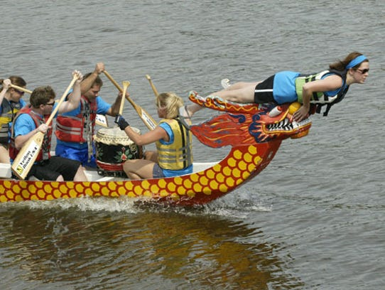 Miesfeld's Lakeshore Weekend features Dragon Boat races.