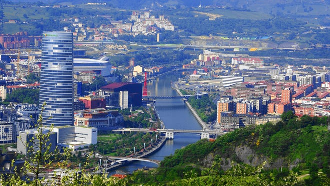 Once an industrial port city in decline, Bilbao is re-creating itself into a tourist destination. Modern buildings stand alongside medieval remnants, and art and museums draw visitors.