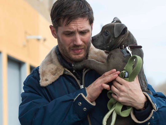 "Tom Hardy appears in a scene from ""The Drop."""
