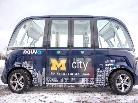NAVYA ARMA autonomous vehicle