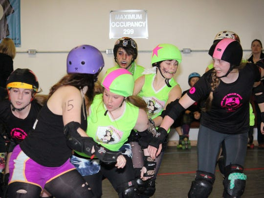 Cherry City Derby Girls' Cherry Blossoms will host a mash-up bout 6 p.m. Friday, May 29, at the Salem Armory.
