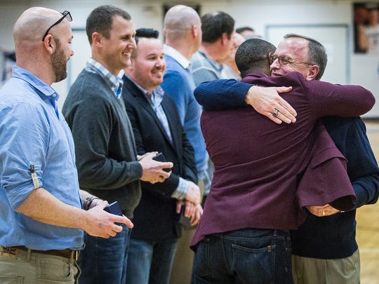 The 1997 Delta High School basketball team is honored