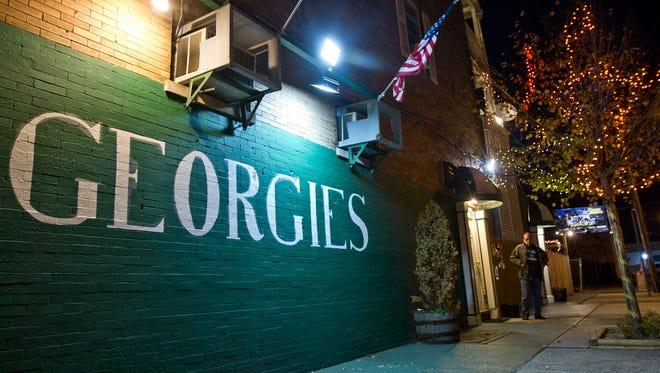 "Georgies, a bar in Asbury Park hosts ""Tempted Tuesdayz"". Asbury Park, NJSaturday, October 24, 2015@dhoodhood"
