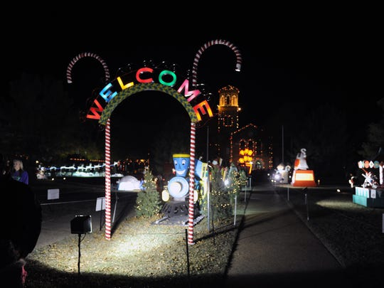 The MSU-Burns Fantasy of Lights opens each year around