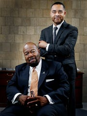 Black Business Association of Memphis leaders include Mark Yates (top) and Roby Williams (bottom) at a time when the city is searching for  ways to stabilize entrepreneurs hard hit by the pandemic.