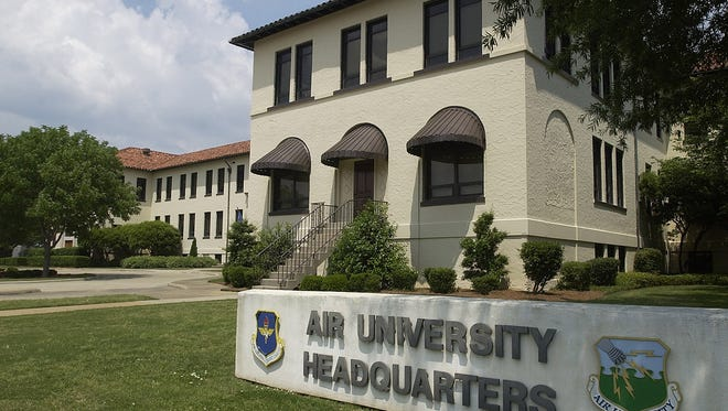 The Air University Headquarters at Maxwell-Gunter Air Force Base in Montgomery, Ala.