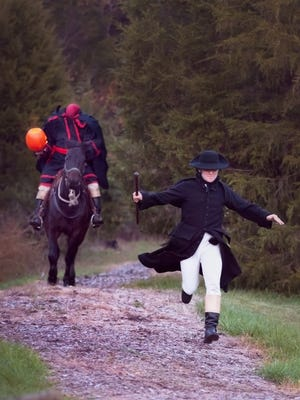 Ichabod Crane better keep moving with the headless horseman hot on his heels. The interactive re-creation of Washington Irving's classic tale will be Saturday at Tunnel Mill as part of the annual Sleepy Hollow event.