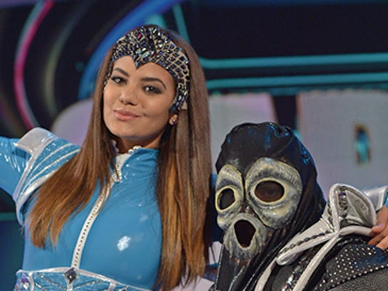 Model Alina Robert and the infamous El Chacal de la