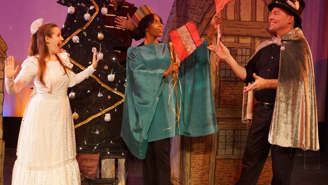 This magical musical warms the hearts of family audiences with the true spirit of the December holidays of Christmas, Chanukah and Kwanzaa.