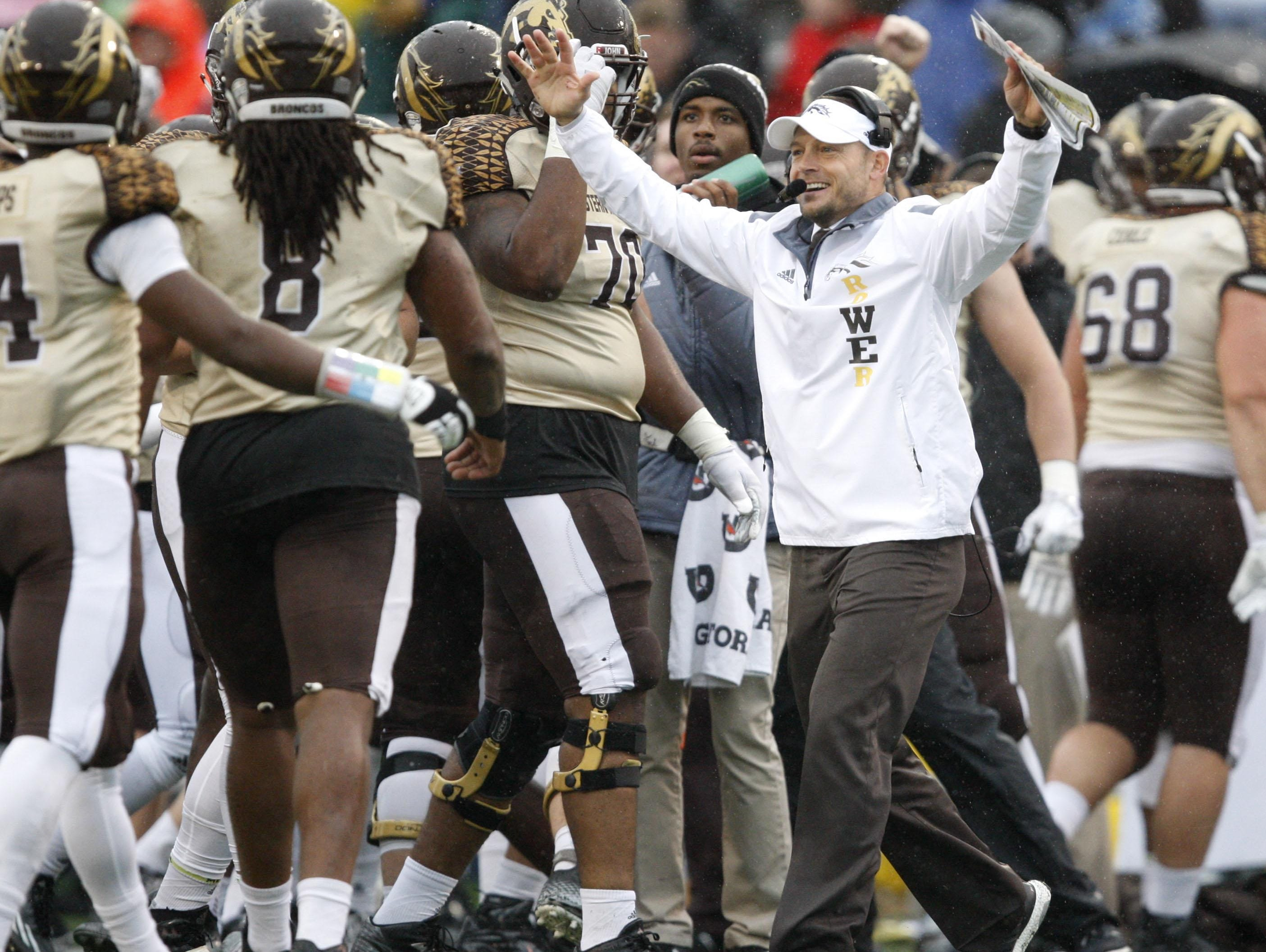 """""""Detroit kids are tough, they are hungry,"""" WMU coach P.J. Fleck said. """"They're going to fight for you, and they are loyal."""""""