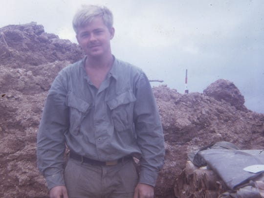 Ed Hansen in 1969 while serving in the U.S. Army in