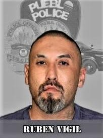 Ruben Vigil is facing two felony counts stemming from an altercation with a shot fired.