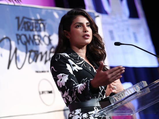 Priyanka Chopra at the Variety Power of Women lunch, presented by Lifetime.