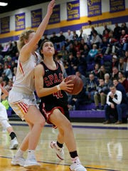 SPASH junior Leah Earnest averaged 17.4 points and a team-high 9.7 rebounds a game as a sophomore last season to earn first-team all-Wisconsin Valley Conference accolades.