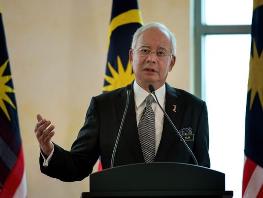Malaysian leader faces risk of criminal charge over funds