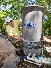 Rick Argovitz, president of Glacier Pool Coolers in