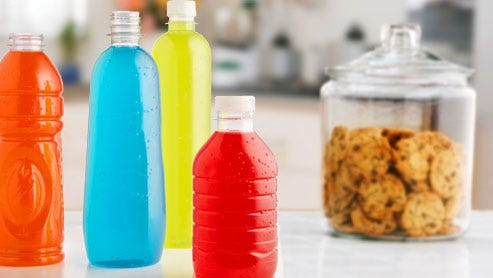 How much sugar in drinks compared to candy and cookies? You'd be surprised.