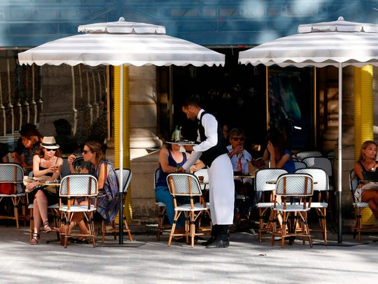 Paris bistros say their business are threatened by