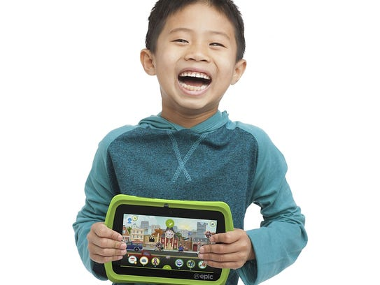 The kid-proof Leapfrog Epic tablet offers many learning-based