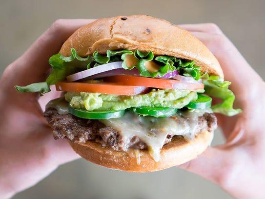 The AZ Burger from Smashburger.