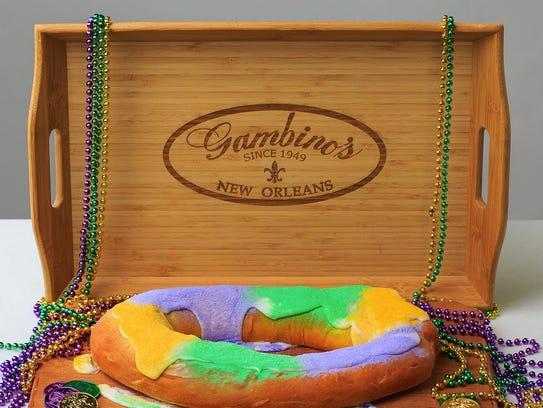 Gambino's traditional king cake