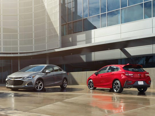 Chevy refreshes the Malibu, Cruze and Spark for 2019