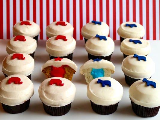 Sprinkles Trumpkin and Vanillary cupcakes