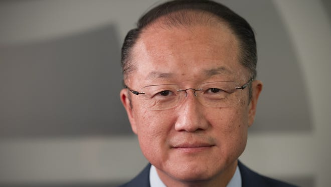 Jim Yong Kim is president of the World Bank.