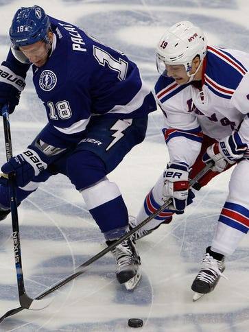 USP NHL: STANLEY CUP PLAYOFFS-NEW YORK RANGERS AT S