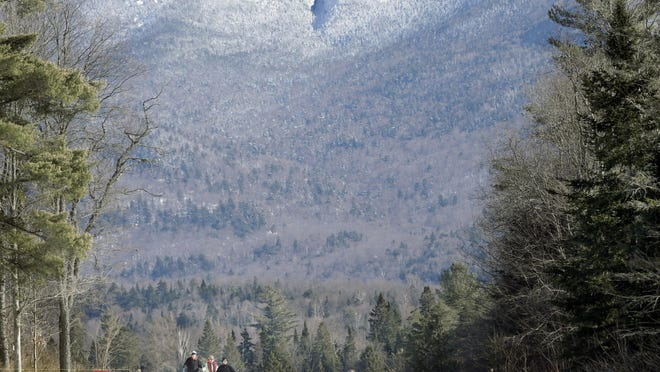Cross-country skiing is available in many parks in the Catskills and Adirondacks.