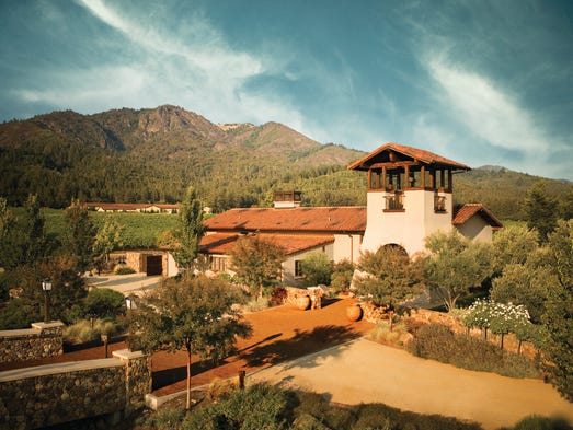 St. Francis Winery & Vineyards in Santa Rosa, Calif., was ranked the best restaurant in America by users of OpenTable, the online dining reservations site.