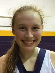 Emily Ward, Benton, Jr., 18.5 ppg., 14.7 rpg.