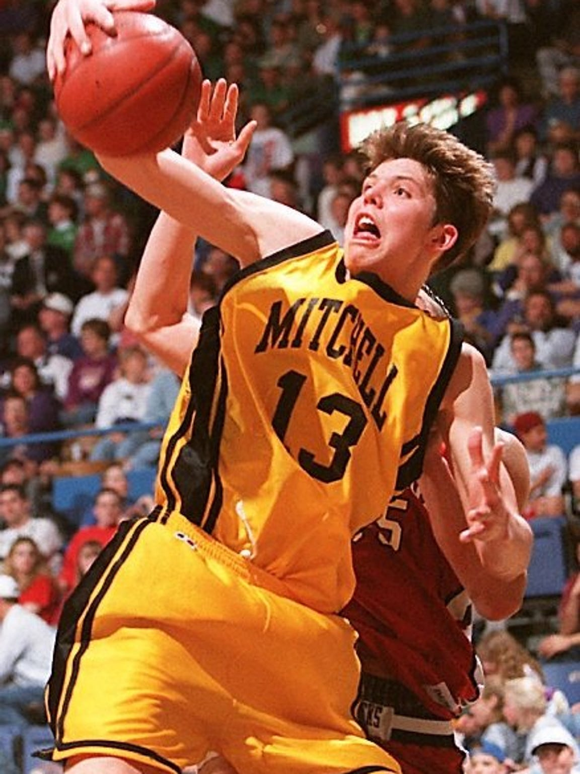 Mitchell standout and eventual NBA veteran Mike Miller was Argus Leader Player of the Year in 1997.