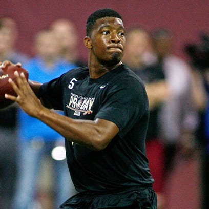 Jameis Winston threw passes for nearly an hour at Florida