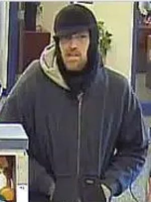 Police say this man robbed a Springettsbury Township credit union on Dec. 26, 2017.