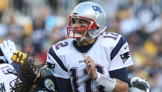 Patriots QB Tom Brady didn't have one of his best games Sunday.