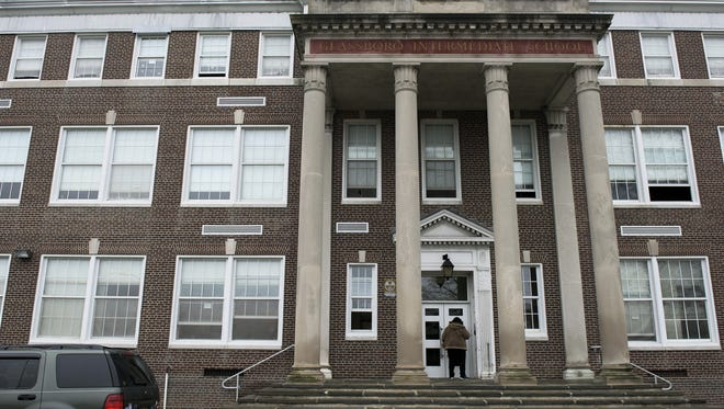 Glassboro Intermediate School was evacuated after a foul odor was reported Thursday.
