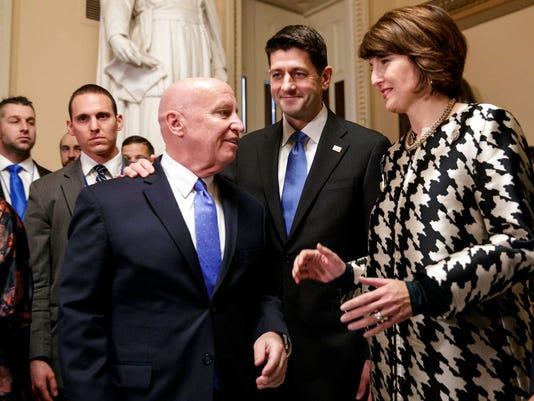 Paul Ryan, Kevin Brady, Cathy McMorris Rodgers