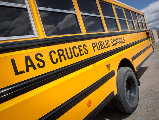 Las Cruces Public Schools bus service is provided by