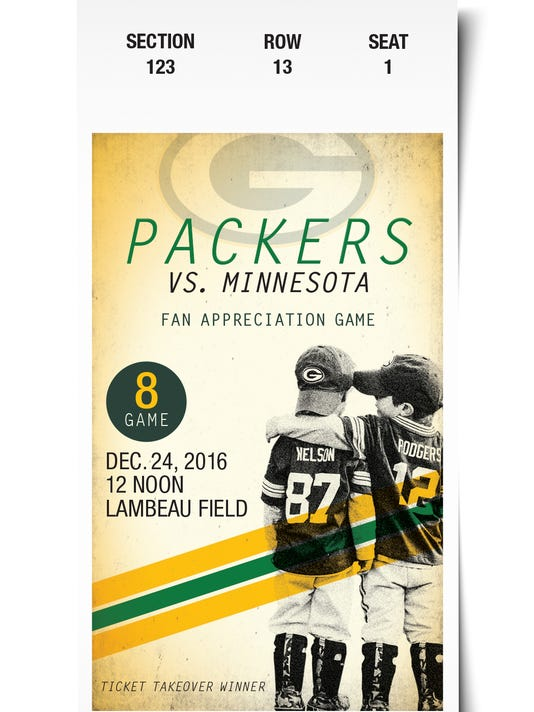 Packers Ticket Takeover 2016