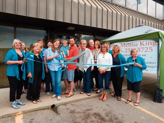The Ruidoso Valley Greeters were on hand for the official ribbon cutting at Lincoln County Chiropractic on June 19.