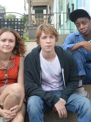 "Olivia Cooke, Thomas Mann and RJ Cyler in ""Me and Earl"