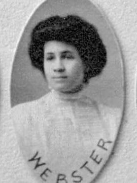Ruby Cora Webster, St. Cloud Normal School, Class of 1909.