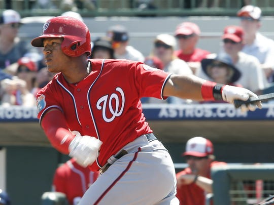 MLB: Spring Training-Washington Nationals at Houston Astros