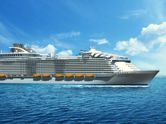 Royal Caribbean Harmony of the Seas arrives in 2016.