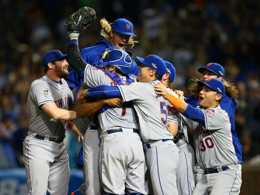 USP MLB: NLCS-NEW YORK METS AT CHICAGO CUBS S BBN USA IL