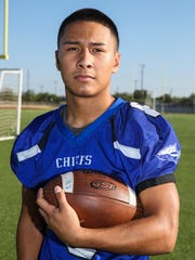 Lake View's Alex Ayala earned first-team all-District 4-5A honors recently, being picked as a utility offensive player on the first-team special teams unit.