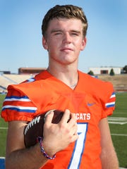 Central High School junior quarterback Maverick McIvor received an honorable mention on the Associated Press Class 6A all-state team. He was also selected as District 2-6A's Offensive MVP.