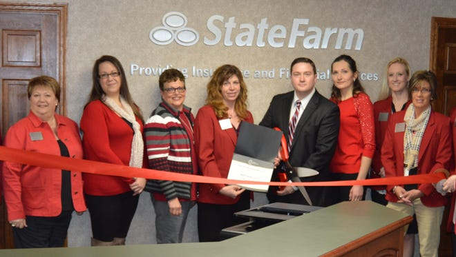 On March 10, State Farm Agent Ryan Hanson hosted a ribbon cutting ceremony at his new location at 415 Main St., Mosinee.