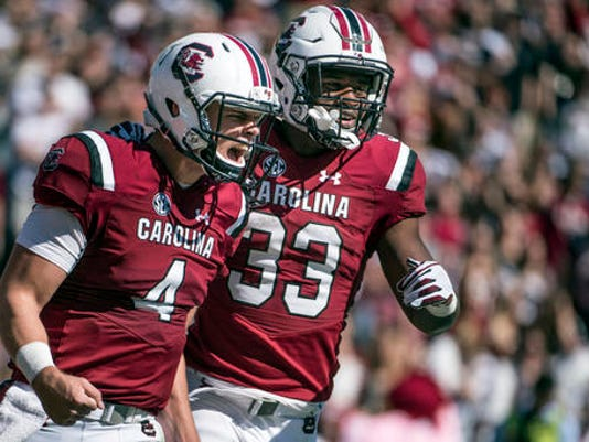 Jake Bentley, David Williams